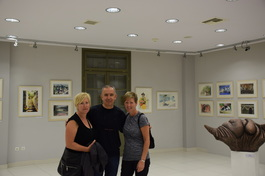 Gallery In Thessaloniki where Watercolour International 3 took place